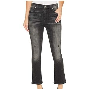 Hudson Jeans Harper High-Rise Crop Baby Kick Flare